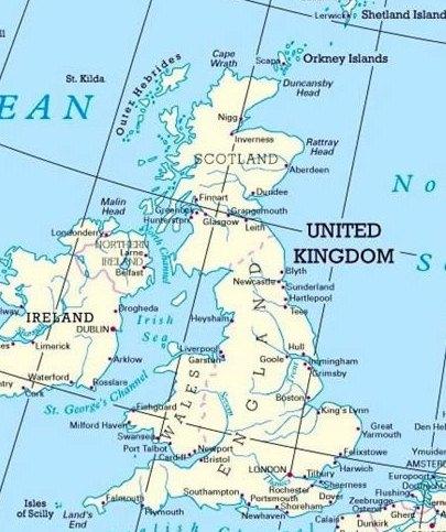 ports map uk 21 UK Marine Chemical Supply Network