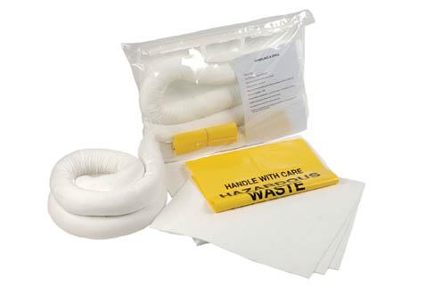 Oil Spill Kit Large Clip Close Bag Oil Spill Kit Large Clip Close Bag